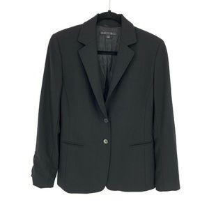 Lafayette 148 Double Button Wool Blend Blazer